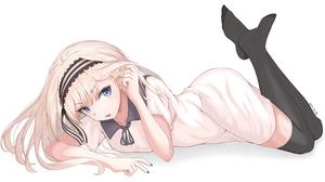 Blonde Blue Eyes Kei Shirogane Long Hair School Uniform 3840x2160 Wallpaper