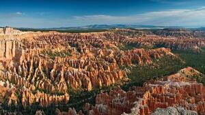 Bryce Canyon National Park Cliff Landscape Nature Rock Usa Utah 1920x1080 Wallpaper