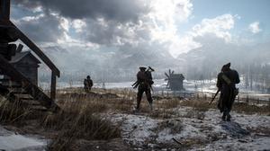 Battlefield 1 Landscape Soldier Winter 2560x1440 Wallpaper