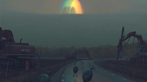 Simon Stalenhag Digital Art Vehicle Futuristic Artwork Road Birds 2556x2556 Wallpaper