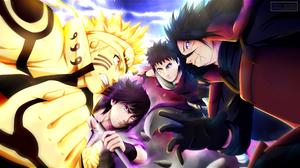 Madara Uchiha Naruto Naruto Uzumaki Obito Uchiha Sasuke Uchiha Uchiha Clan 2546x1510 Wallpaper