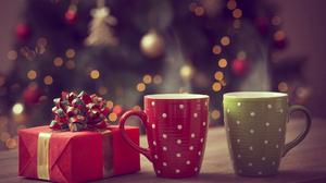 Christmas Coffee Decoration Gift Mug 1920x1200 Wallpaper