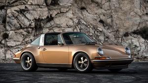 Brown Car Car Convertible Porsche Singer 911 Targa Singer Vehicle Design 2560x1600 Wallpaper