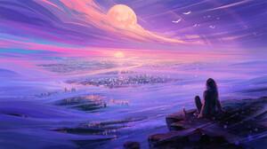 Digital Art Fantasy Art Sky Landscape Aenami 1920x1080 wallpaper