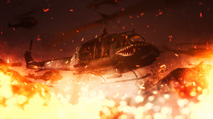 Military Helicopter 2560x1440 Wallpaper