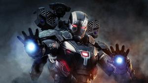 Armor James Rhodes Marvel Comics War Machine 4000x2250 Wallpaper