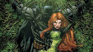 Batman Poison Ivy DC Comics Superhero Costumes Mask Comics Comic Art Fantasy Art Artwork 1920x1080 Wallpaper