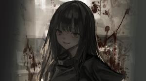 Original Anime Blood 2000x1215 Wallpaper