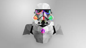 Facets Star Wars Stormtrooper 2560x1440 Wallpaper