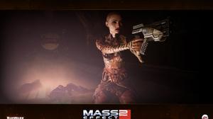Gun Jack Mass Effect Warrior Woman 1680x1050 Wallpaper