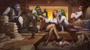 Blizzard Entertainment World Of Warcraft Night Elves 1920x1080 Wallpaper