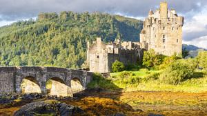 Scotland Castle Eilean Donan Castle 5596x3731 Wallpaper