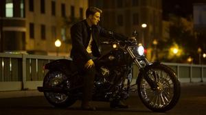 Captain America The Winter Soldier Chris Evans Steve Rogers Harley Davidson 3000x1687 Wallpaper