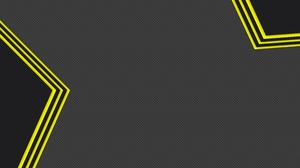 Geometry Grey Shapes Yellow 7680x4320 Wallpaper