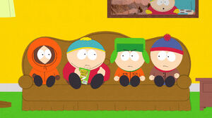 Stan Marsh Kenny McCormick Kyle Broflovski Eric Cartman 1920x1080 Wallpaper
