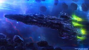 Sci Fi Spaceship 1920x1080 Wallpaper