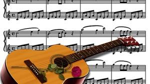 Guitar Instrument Sheet Music 4000x3000 Wallpaper
