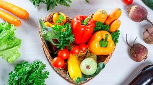 Carrot Pepper Still Life Tomato Vegetable 5637x3758 Wallpaper