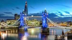 Bridge City England London River Thames Tower Bridge 5733x3713 Wallpaper