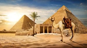 Man Made Pyramid 6765x3847 Wallpaper