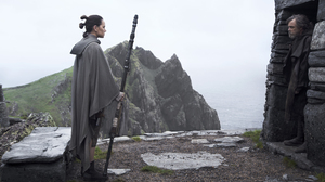 Daisy Ridley Luke Skywalker Mark Hamill Rey Star Wars Star Wars Star Wars The Last Jedi 5760x3840 Wallpaper