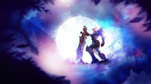 Girl League Of Legends Moon Riven League Of Legends Sword Woman Warrior 5120x2880 wallpaper