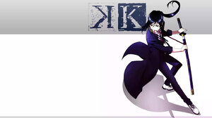 Anime Boys Yatogami Kuroh Sword Weapon Long Hair K Project 1440x900 Wallpaper