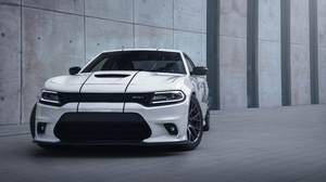 Dodge Charger Dodge Charger Muscle Cars American Cars SRT White Cars Tuning Supercars 5439x3626 wallpaper