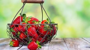 Berry Fruit Still Life Strawberry 6000x4000 Wallpaper