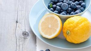 Food Blueberry 3872x2592 wallpaper