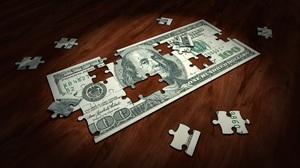 Money Puzzle 3600x1900 Wallpaper