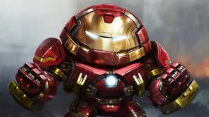 Hulkbuster Iron Man Marvel Comics 3840x2160 Wallpaper
