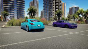 Forza Horizon 3 Nissan 350z Nissan Silvia Parking Lot 1920x1080 Wallpaper