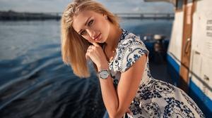 Dress Depth Of Field Woman Blonde 2048x1365 Wallpaper
