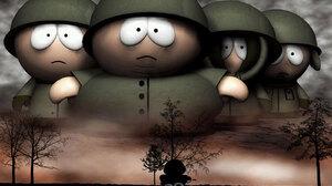 Eric Cartman Kenny Mccormick Kyle Broflovski South Park Stan Marsh 1600x1200 Wallpaper