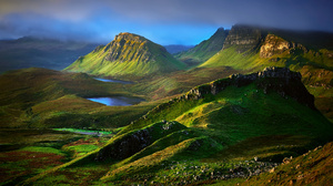 Highlands Hill Isle Of Skye Landscape Scotland 2048x1313 Wallpaper
