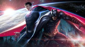 Batman Dc Comics Superman 2128x1080 Wallpaper