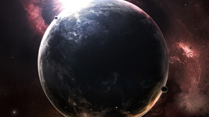 Collision Planet 1600x1200 Wallpaper