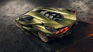 Lamborghini Car Sport Car Supercar Green Car 8545x4820 Wallpaper
