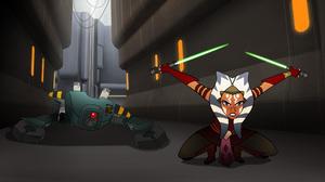Ahsoka Tano Star Wars Forces Of Destiny 2120x1192 Wallpaper