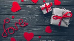 Gift Heart Love Still Life 3756x2504 Wallpaper