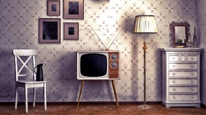Retro Television Vintage 1920x1080 Wallpaper