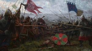 Armor Banner Battle Shield Spear Warrior 1920x1080 Wallpaper
