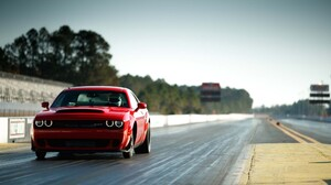 Car Dodge Dodge Challenger Dodge Challenger Srt Dodge Challenger Srt Demon Mopar Muscle Car Vehicle 2040x1360 Wallpaper