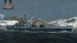 World Of Warships Battleship War Ocean Battle 1680x1050 Wallpaper