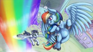 Rainbow Dash Soarin My Little Pony 1920x1080 Wallpaper