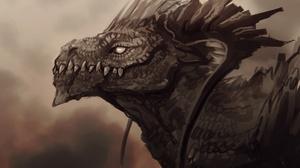 Fantasy Dragon 3416x2356 wallpaper