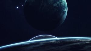 Sci Fi Planets 1920x1205 Wallpaper