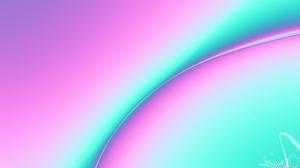 Artistic Colors Digital Art Gradient Pastel Pink Turquoise 1920x1080 Wallpaper