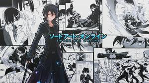 Kazuto Kirigaya Kirito Sword Art Online 1920x1080 wallpaper